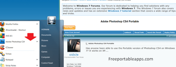 Photoshop cs4 Portable 64 bit Free Download