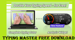 Typing Master Free Download for PC Windows