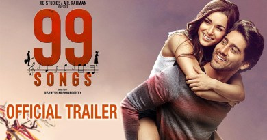 99 Songs official trailer of ar rehmans biography movie