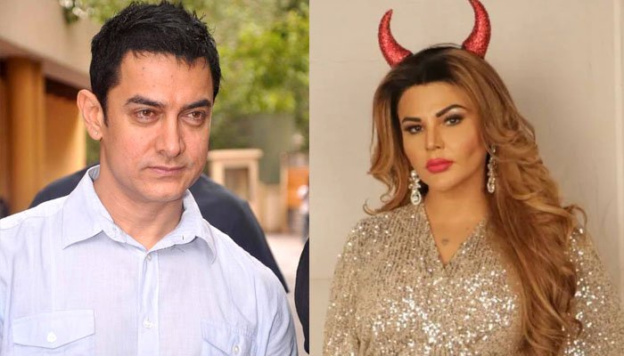 Rakhi Sawant Is Shocked After Learning About Aamir Khan's COVID-19 Diagnosis; Says 'This Is So Scary'