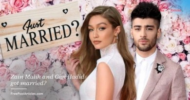 Zain Malik and Gigi Hadid got married?
