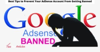 Best Tips to Prevent Your AdSense Account From Getting Banned