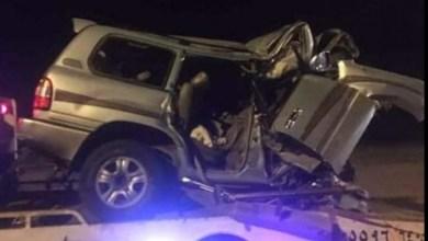 Photo of حادث سير يودي بحياة أبوين يمنيين وإصابة أطفالهما الخمسة في السعودية