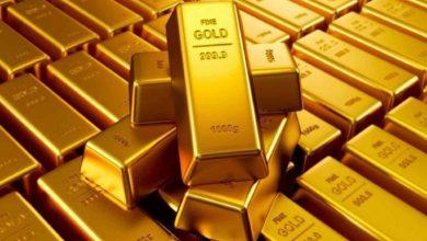 Photo of استقرار الذهب بعد نزوله دون مستوى1500دولار