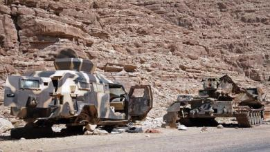 Photo of استهداف معسكر للقوات السعودية في منفذ شحن الحدودي بالصواريخ
