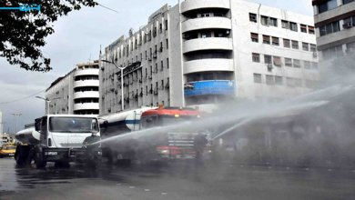 Photo of التصدي لـ« كورونا» وسط إستنفار واسع في شوارع وأحياء دمشق