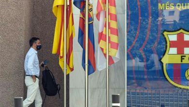 صورة بارتوميو يعلن استقالته من رئاسة نادي برشلونة الإسباني