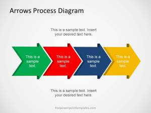 Free Arrows Process Diagram Template