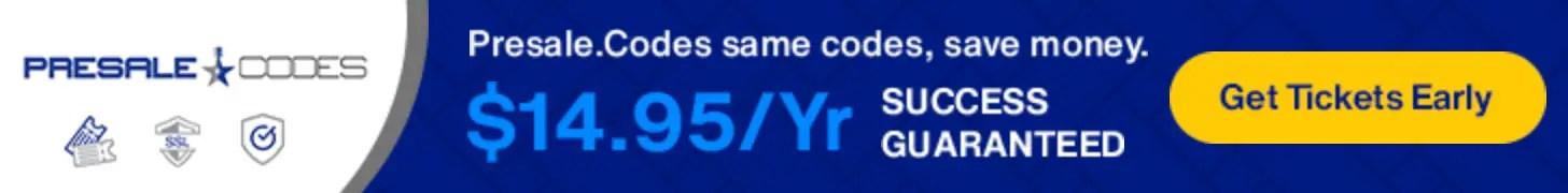 Presale.Codes is the best presale password site.