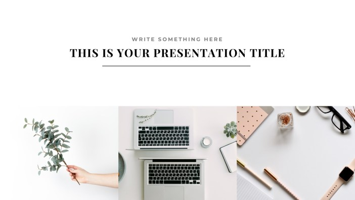 Free Presentation Template