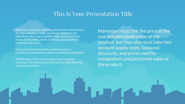Tikala Free Presentation Template