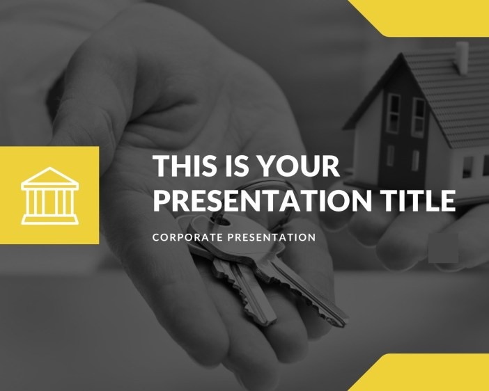 Free Real Estate PowerPoint, Free Google Slides, Free Apply Keynote