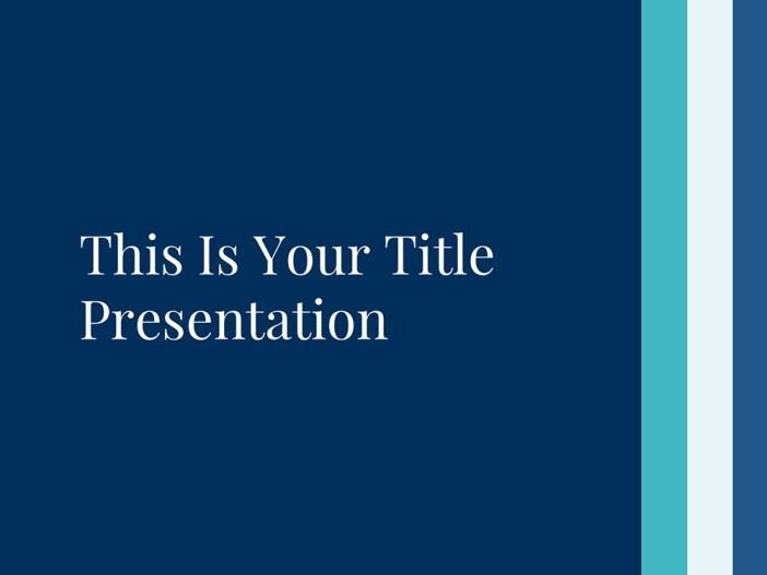 Free PowerPoint Template / Free Apple Keynote