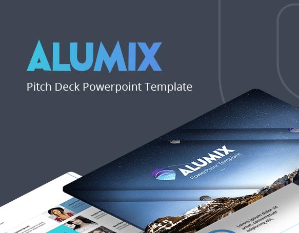 Alumix Free Pitch Deck Presentation Template