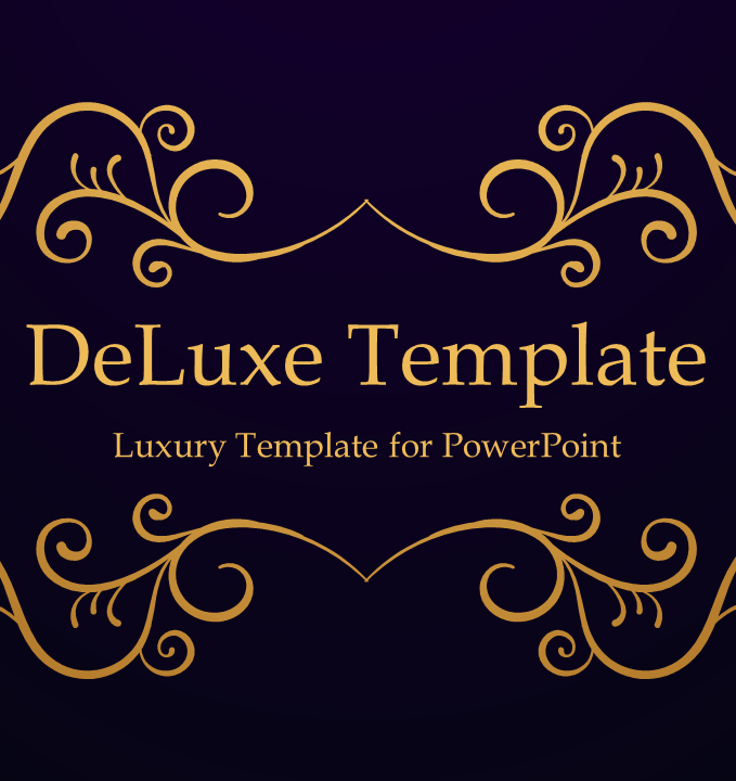 Deluxe Luxury Free Powerpoint Template