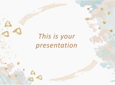Free Elegant Presentation Template