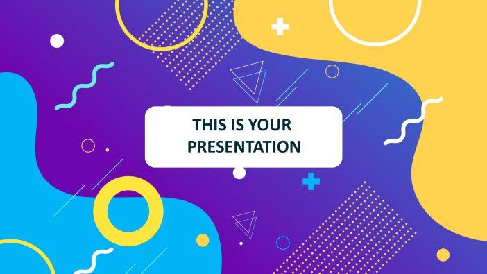 Free Creative Presentation Template