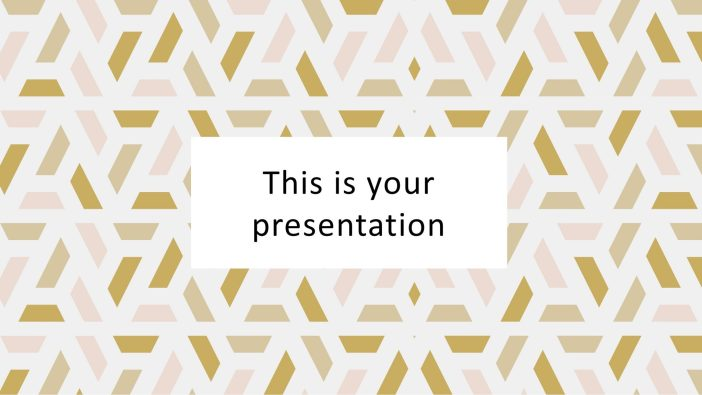 Elegant Presentation Template