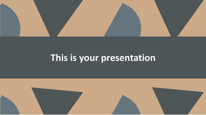 Free Creative Presentation Template