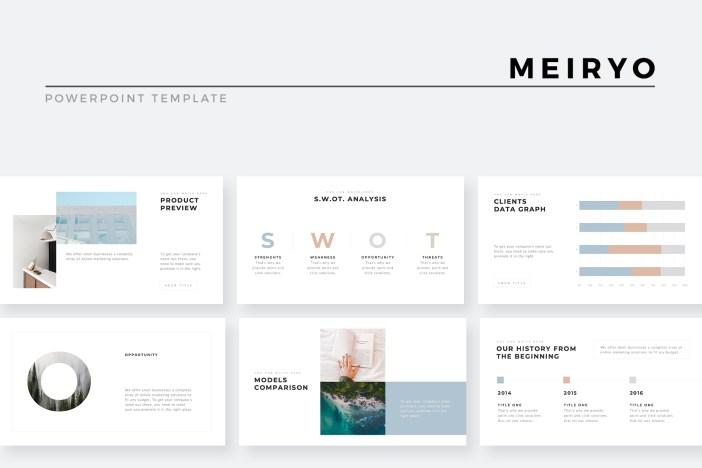 17 Unique Minimal Powerpoint Templates