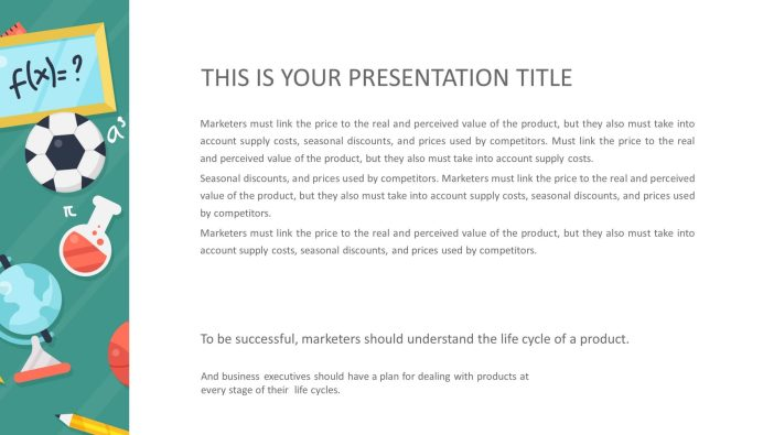 Free Education Presentation Template