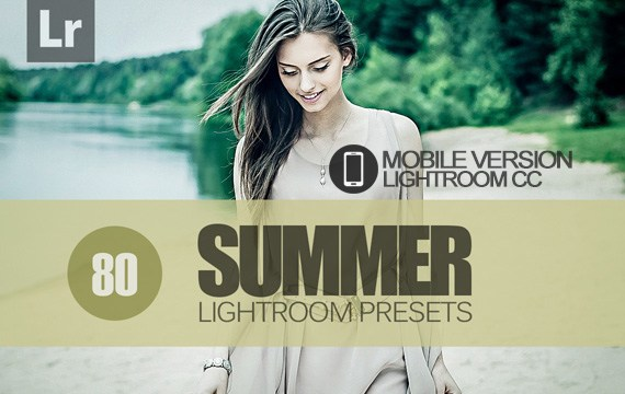 80 Summer Lightroom Mobile bundle