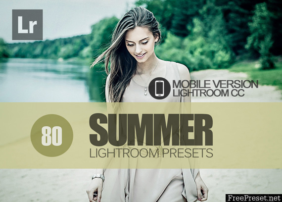 80 Summer Lightroom Mobile bundle