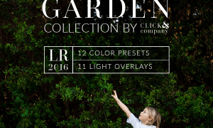 Garden Collection Presets for LIGHTROOM