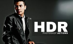 HDR Photoshop Actions 1009451