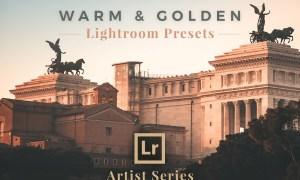 Warm & Golden Lightroom Presets