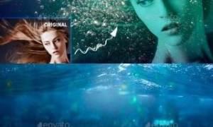 2019 Underwater Photoshop Effect 23023459