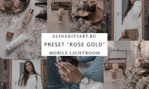 Alina Kiviart - Rose & Gold Lightroom & Mobile Presets