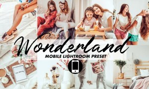 Mobile Lightroom Preset Wonderland 3447248