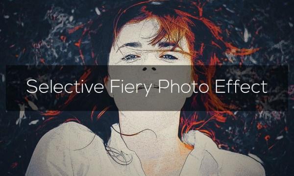 Selective Fiery Photo Effect 3296978