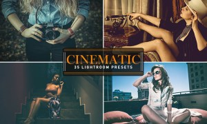 35 Cinematic Lightroom Presets