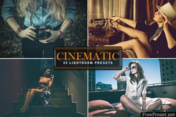 35 Cinematic Lightroom Presets