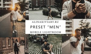 Alina Kiviart - Men Desktop & Mobile Presets