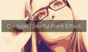 Cartoon Colorful Paint Effect 3301359