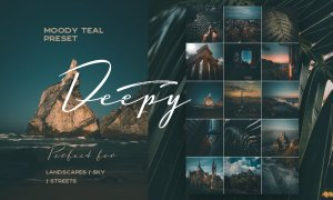 Deepy Moody Teal Lightroom preset 3564962
