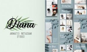 Diana Animated Instagram Stories 3275228