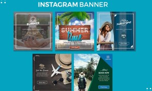 Instagram Summer Banners 2950326