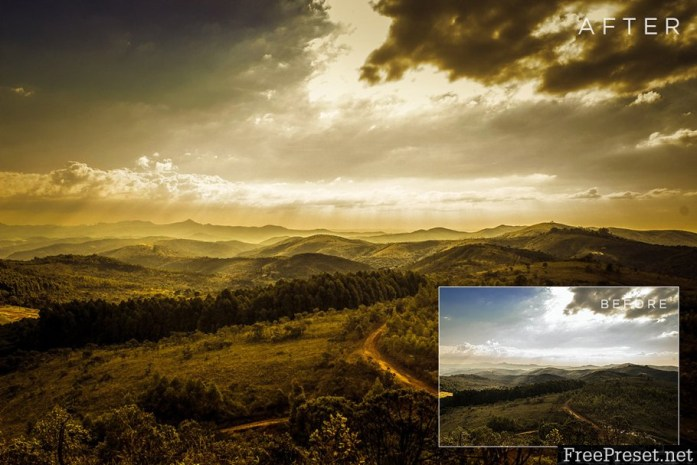 Lovely Landscapes Lightroom Presets - 200086