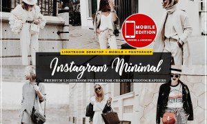 Minimal blogger Lightroom Presets 2838010