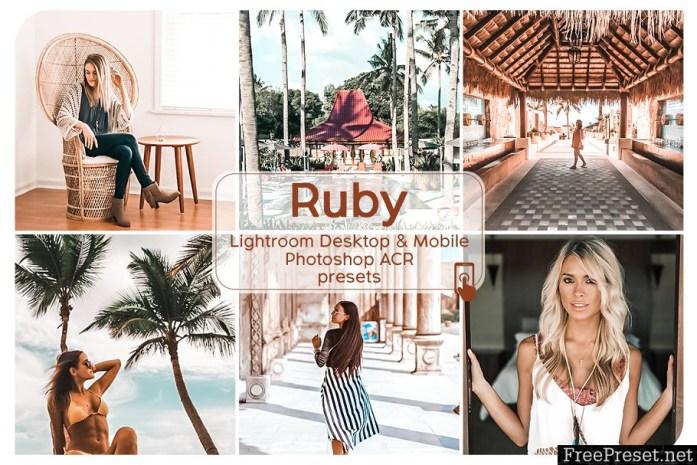 Ruby Lightroom Presets 2907739