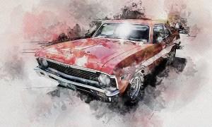 Sensation - Watercolor Photoshop Action - 22502779