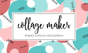 Shape and Contour Collage Maker 3001650