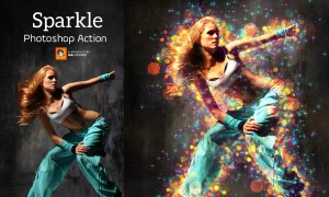 Shimmer Photoshop Action 3379621