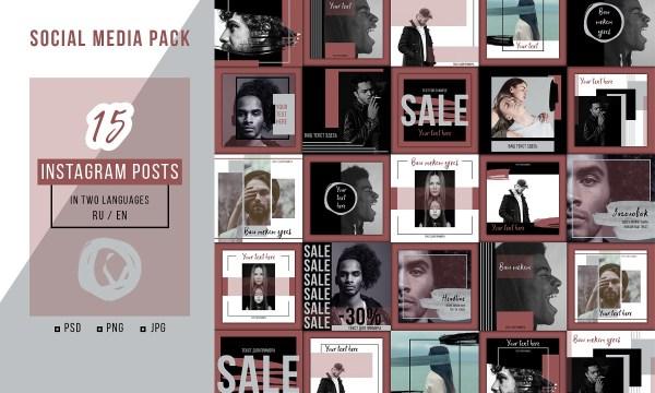 Social Media Pack - Instagram 3465021