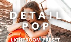CreativeMarket - Detail Pop Mobile Lightroom Preset 2794072