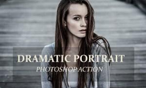 Dramatic Portrait - PS Action 3239335